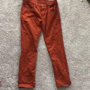 Levi's orange jeans 32 x 30!